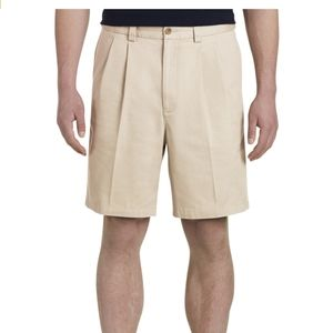 Harbor Bay Two Pleat Waist Relaxed Men Sho…